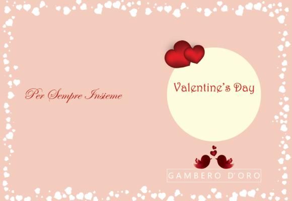 gambero doro valentines day 2018